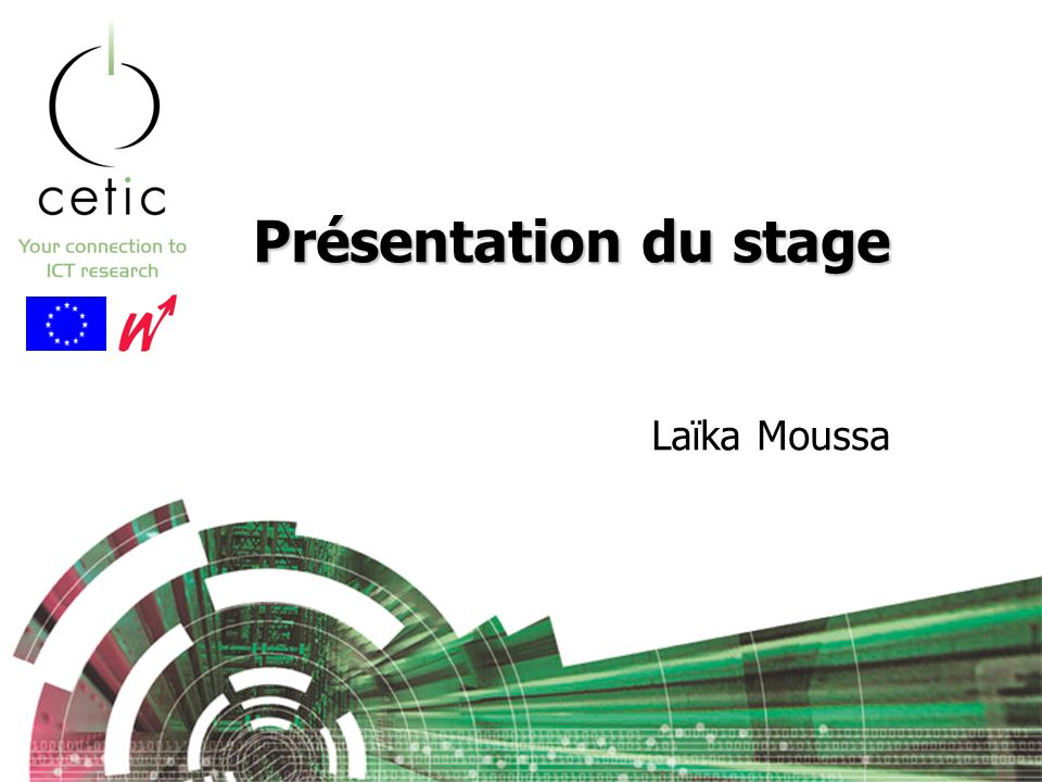 Présentation du stage Laïka Moussa