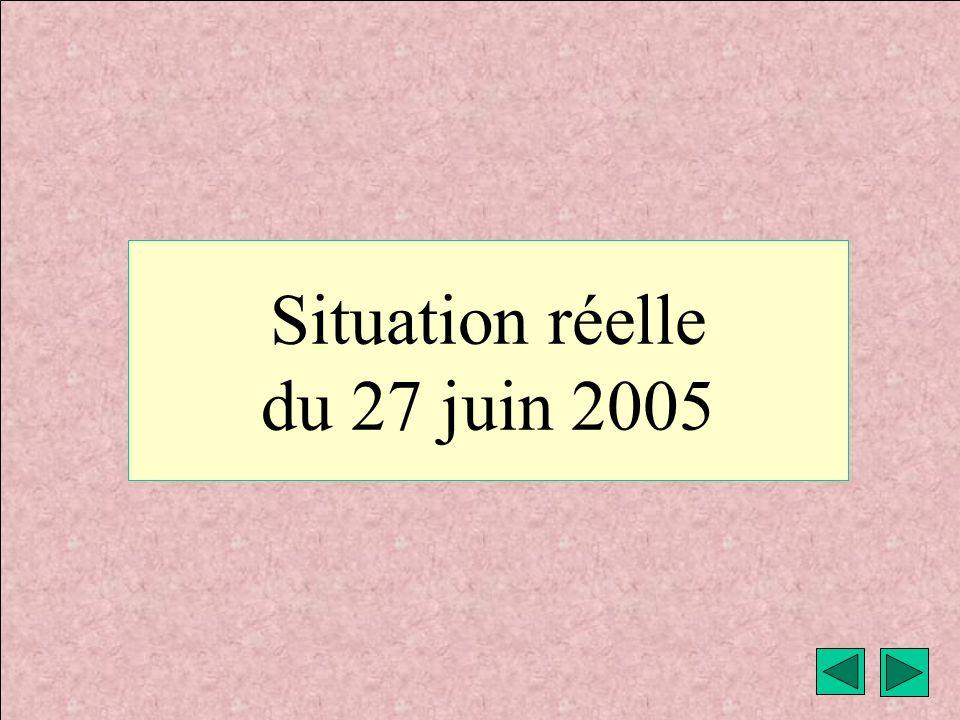 météo montagne Fièque JP18 Situation réelle du 27 juin 2005