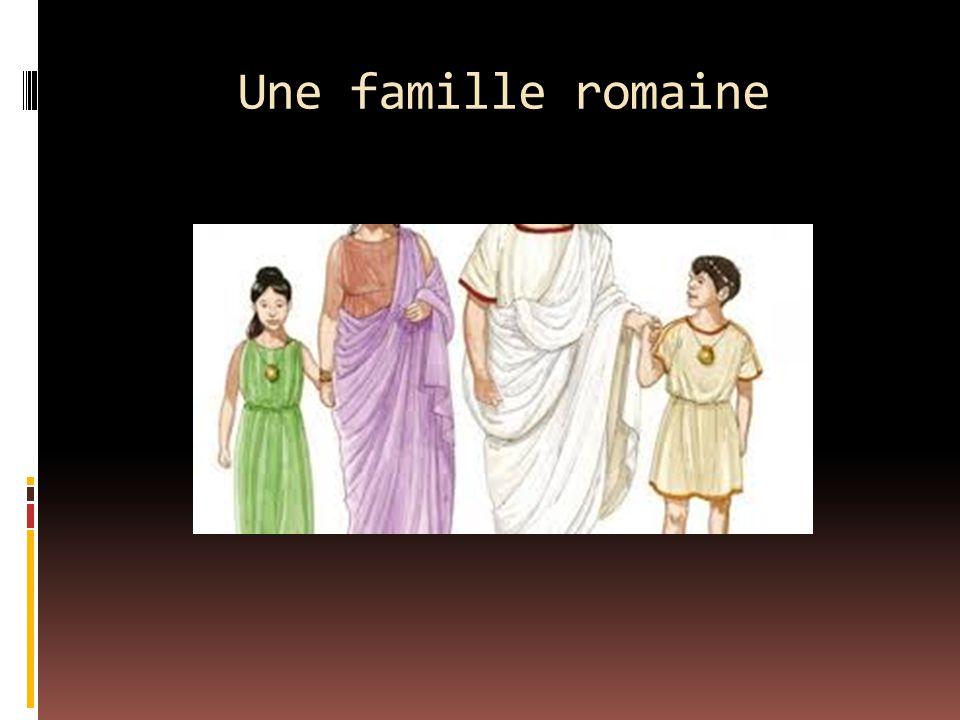 Une famille romaine