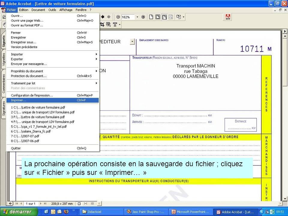 Dans la version d'Office pro, vous avez une imprimante qui se nomme « Microsoft Office Document Image Writer ».