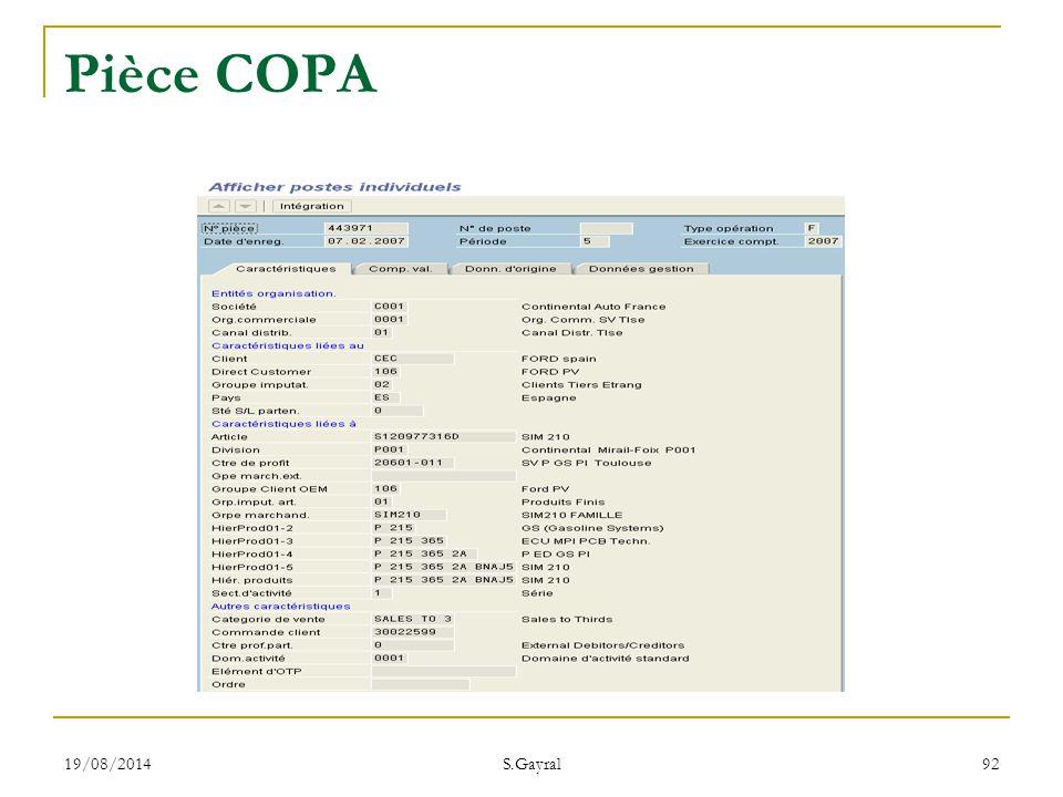 19/08/2014 S.Gayral 92 Pièce COPA