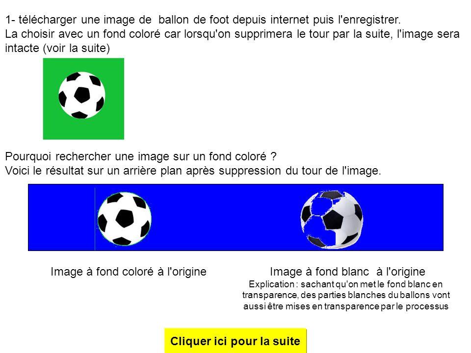 Créer des rebonds avec un ballon de football, sur un fond bleu marine Développé pour Power Point 2003, complément pour Power point 2007