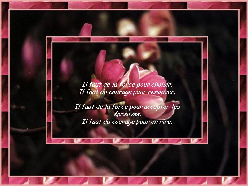Il faut de la force pour avancer.Il faut du courage pour accepter de s'être trompé.