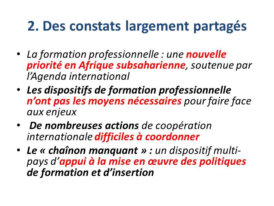 Activités de la composante 2 Le projet P-FOP conduira quatre ensembles d'activités pour atteindre ces résultats : accompagner des processus de capitalisation, qui réuniront pour l'essentiel des acteurs des pays partenaires impliqués dans la mise en œuvre de la composante 1.
