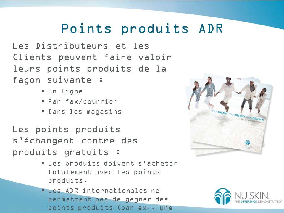 Frais d'inscription * Les nouveaux Distributeurs qui souscrivent une ADR de minimum 50 PVP après réduction lors de l inscription ne devront pas payer les frais d inscription.