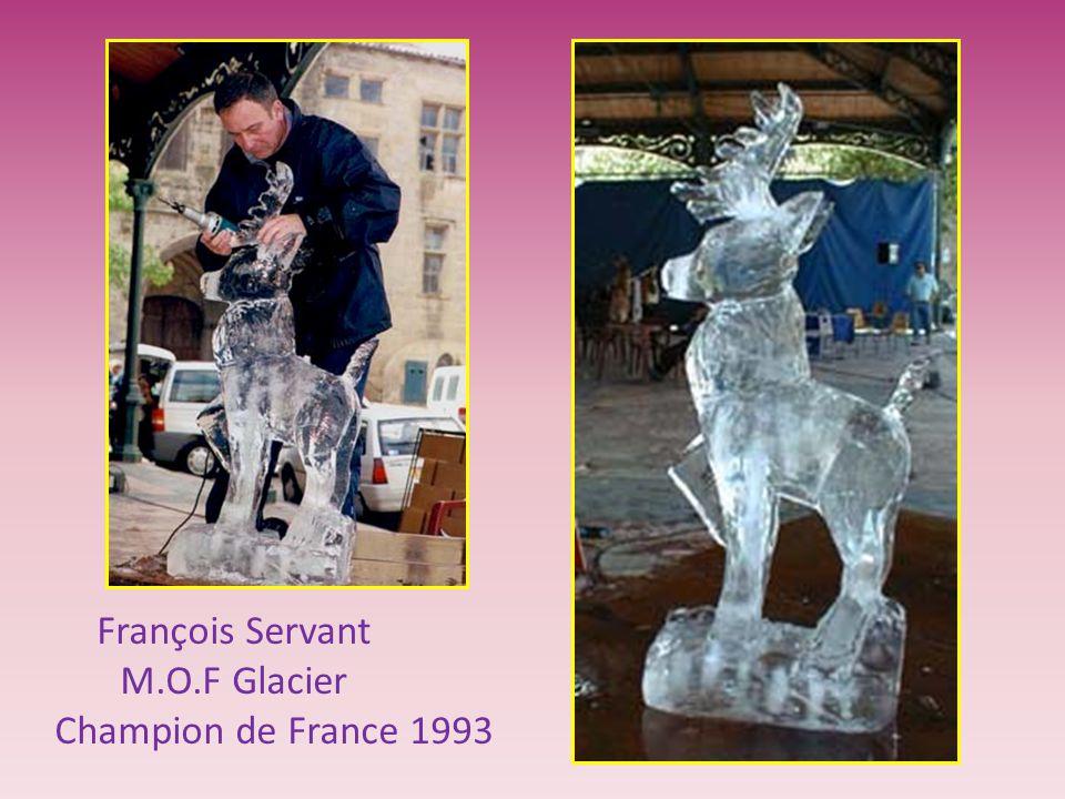 François Servant M.O.F Glacier Champion de France 1993