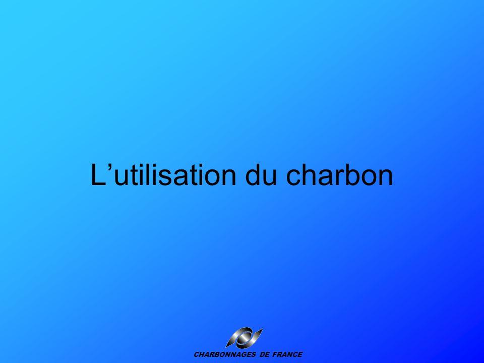 Roue-pelle Chantier au charbon Camion Pulvérisateur à eau Perceuse perforateur Explosion Exploitation de charbon à ciel ouvert CHARBONNAGES DE FRANCE