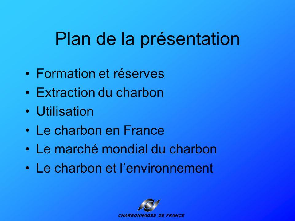 Le charbon : une énergie primaire fondamentale CHARBONNAGES DE FRANCE