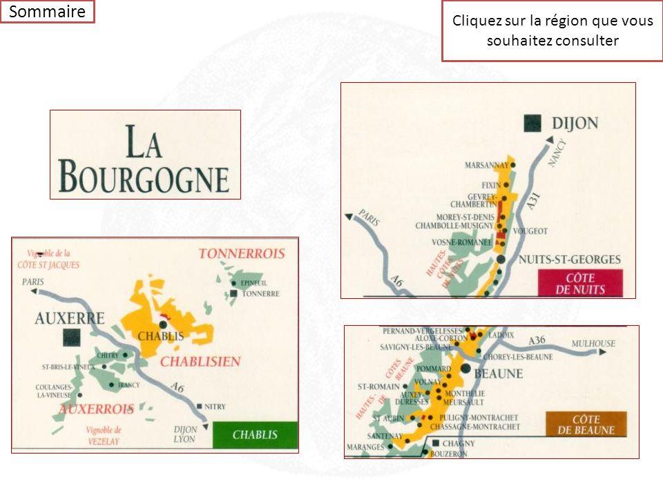 Bourgogne Sommaire