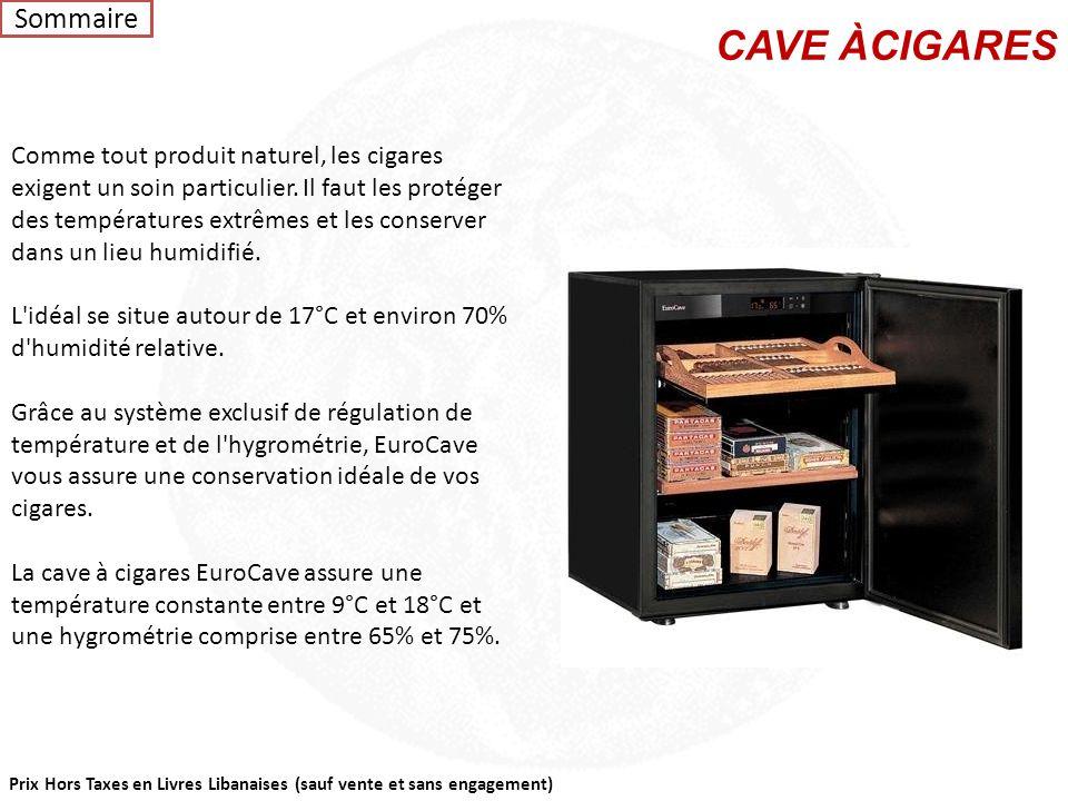 Prix Hors Taxes en Livres Libanaises (sauf vente et sans engagement) Inoa 50 et Inoa 25 est le climatiseur de cave monobloc le plus silencieux du marc