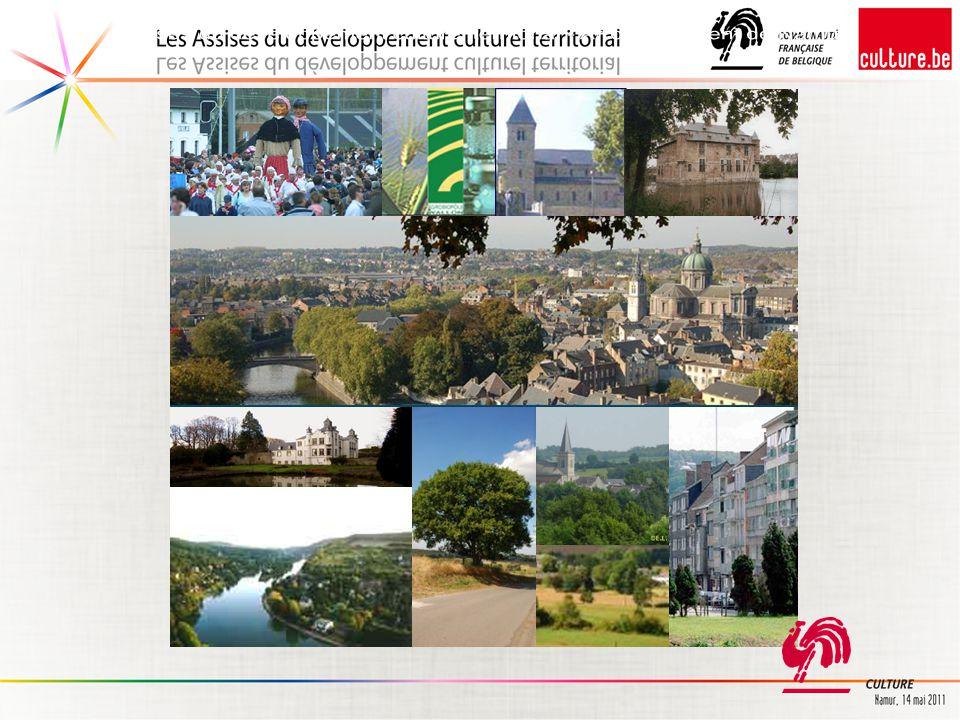 Cartographie de l'ensemble des opérateurs soutenus par la Communauté française Wallonie-Bruxelles et la Province de Namur
