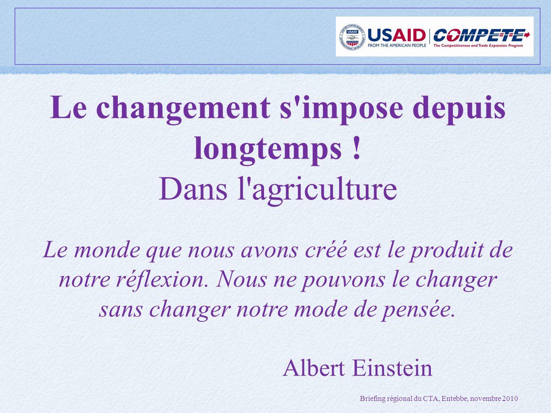 Le changement s impose depuis longtemps .