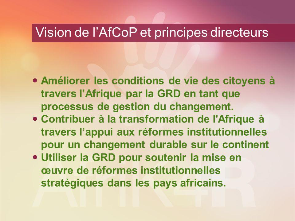 L'agenda africain pour l'efficacité du développement: vers une croissance inclusive tirée par le secteur privé Redevabilité et partenariats Intégration économique régionale Partage des connaissances et coopération Sud-Sud Etats capables Consensus de Tunis