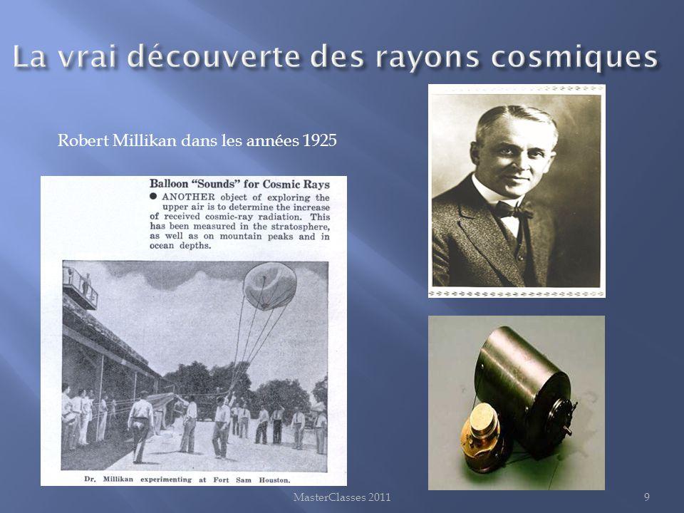 MasterClasses 20119 Robert Millikan dans les années 1925