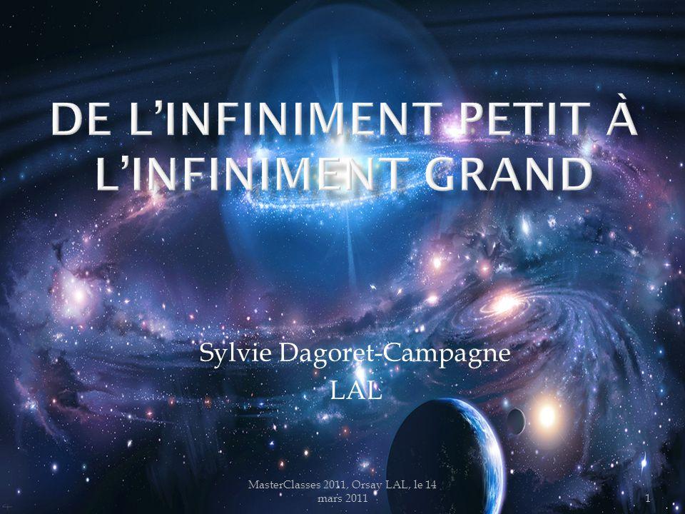 MasterClasses 2011, Orsay LAL, le 14 mars 201122 5 milliard D'années