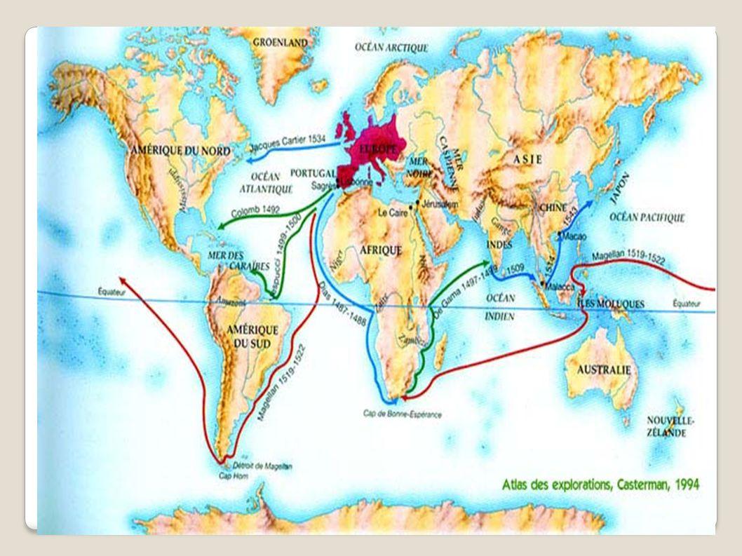 Les grandes découvertes dans la littérature : De nombreux romanciers, de nombreux poètes (Lamartine, Baudelaire) se sont inspirés des grandes découvertes pour raconter toutes sortes de voyages, d explorations...
