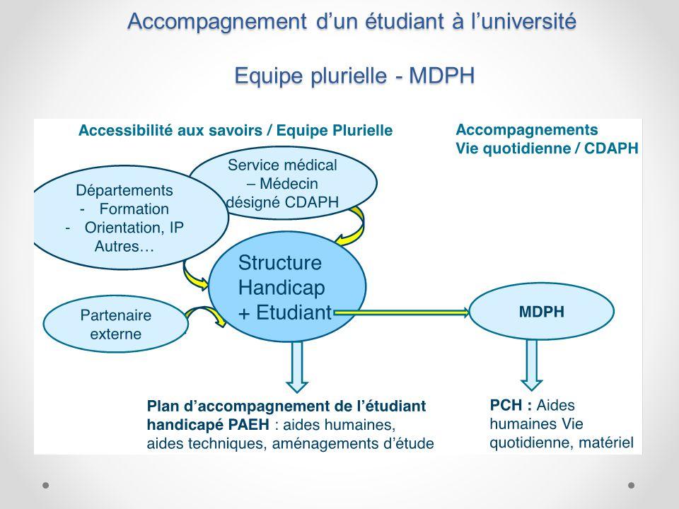 Points saillants Sur-représentation des élèves handicapés en filière courte en L1 et sous représentation en M2.