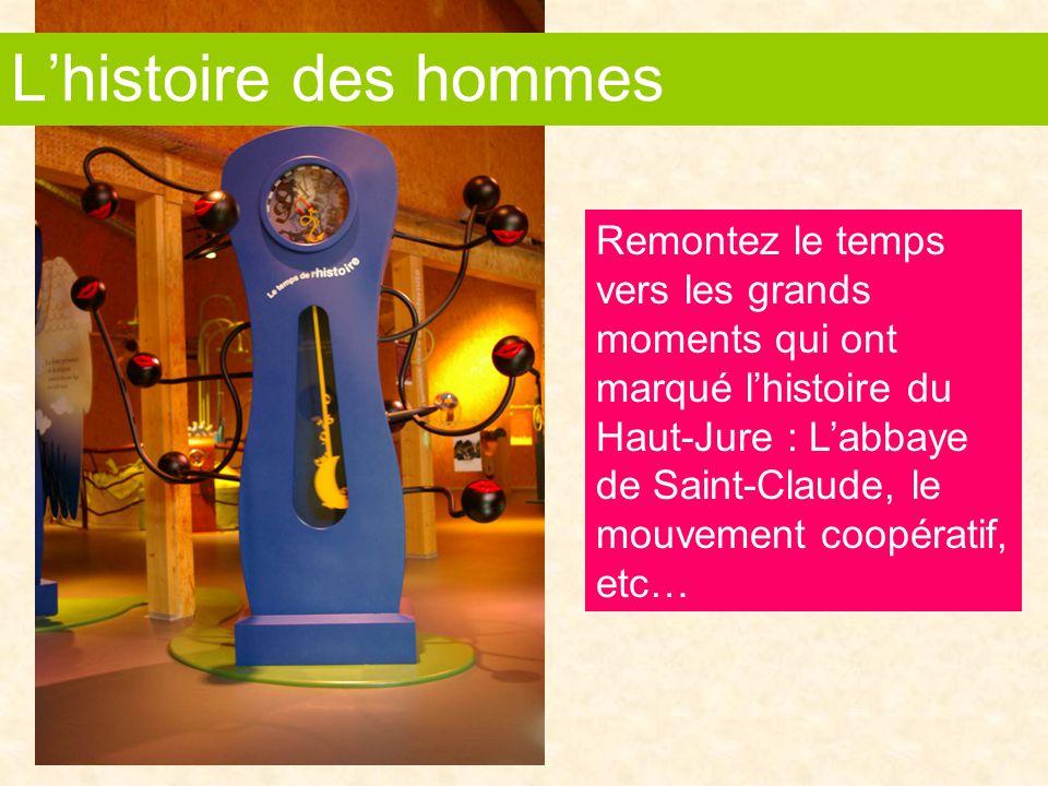 Remontez le temps vers les grands moments qui ont marqué l'histoire du Haut-Jure : L'abbaye de Saint-Claude, le mouvement coopératif, etc… L'histoire des hommes