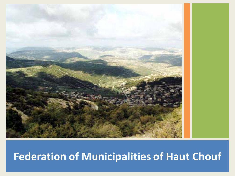 Federation of Municipalities of Haut Chouf