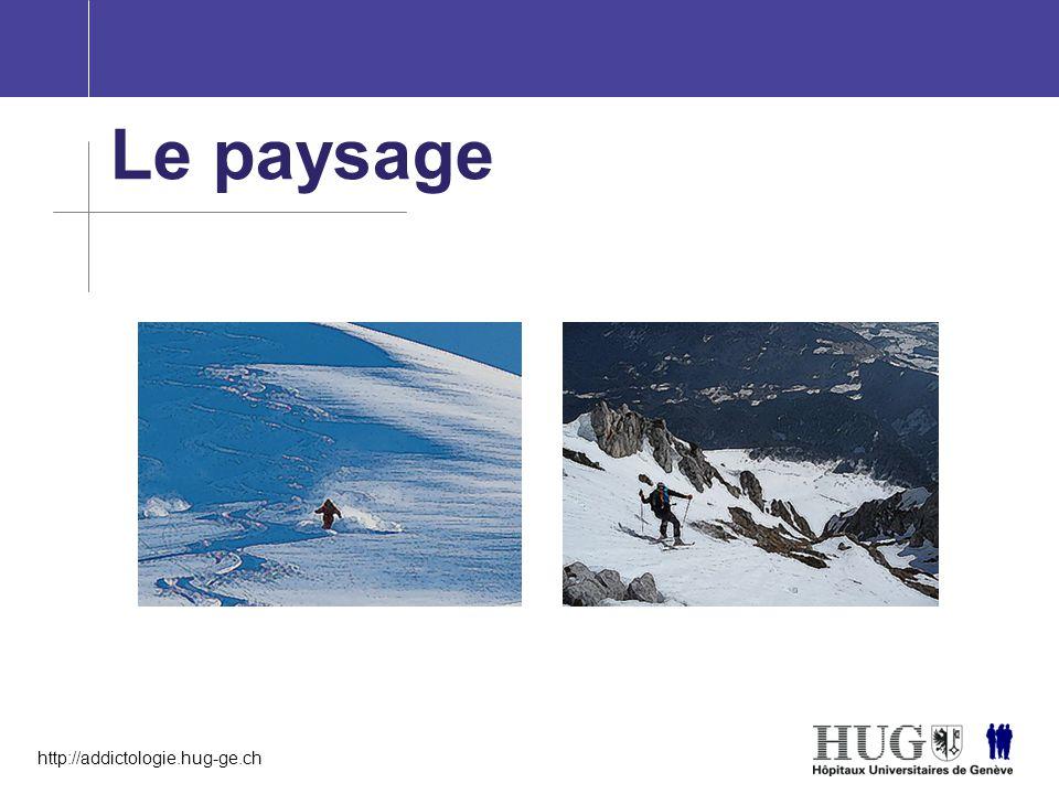 http://addictologie.hug-ge.ch Le paysage