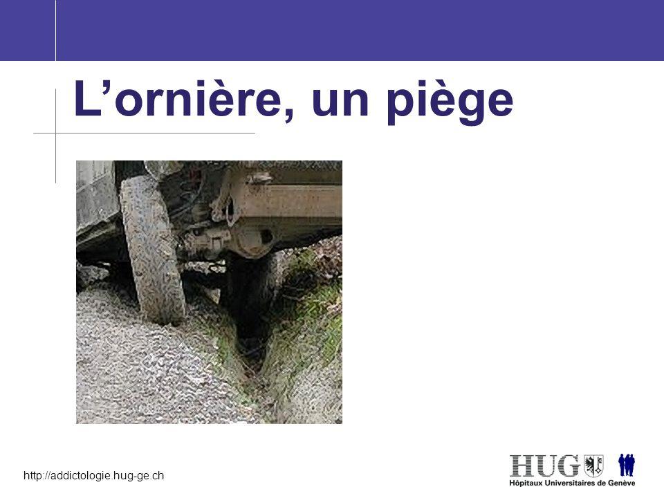 http://addictologie.hug-ge.ch L'ornière, un piège