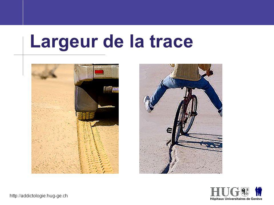 http://addictologie.hug-ge.ch Largeur de la trace