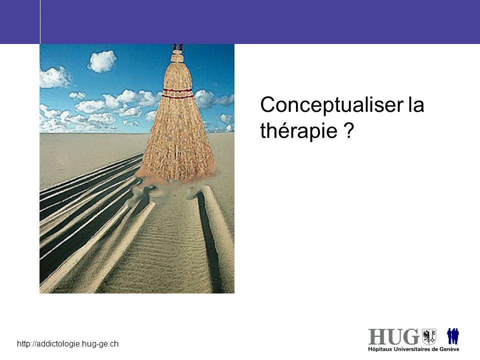 http://addictologie.hug-ge.ch Conceptualiser la thérapie ?