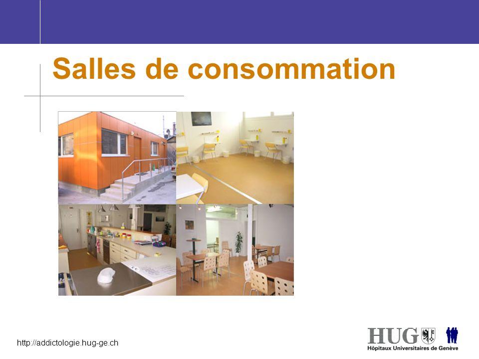 http://addictologie.hug-ge.ch Salles de consommation