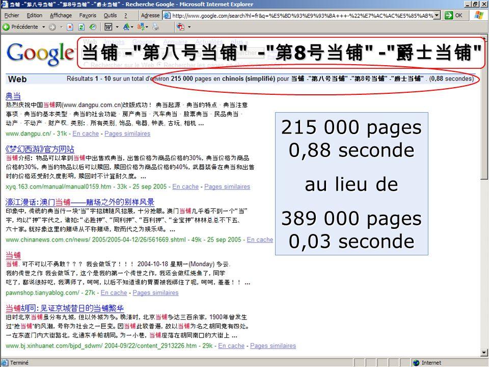 当铺 - 第八号当铺 - 第 8 号当铺 - 爵士当铺 215 000 pages 0,88 seconde au lieu de 389 000 pages 0,03 seconde