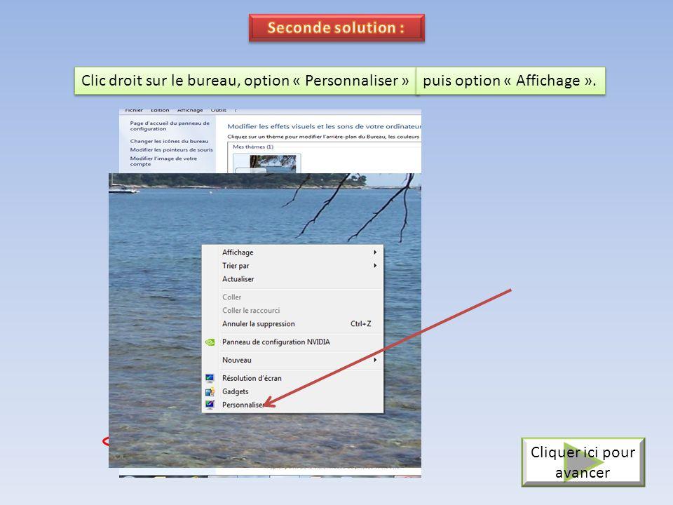 Dans le champ « Orientation », choisir « Paysage ». Cliquer sur « Appliquer » puis « Ok » Cliquer ici pour avancer