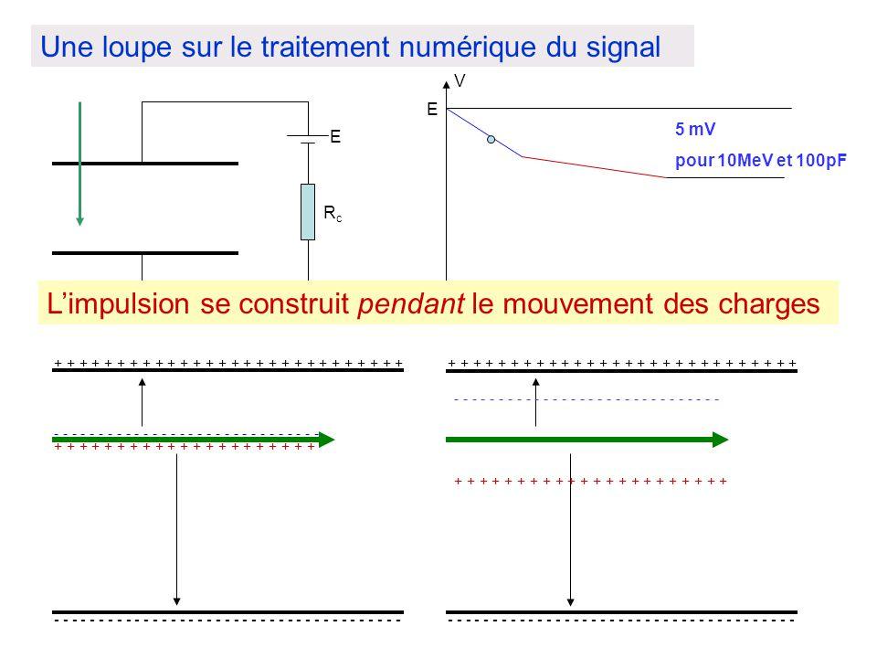 Une loupe sur le traitement numérique du signal E - - - - - - - - - - - - - - - - - - - - - - - - - - - - - - - - - - - - - - - + + + + + + + + + + +