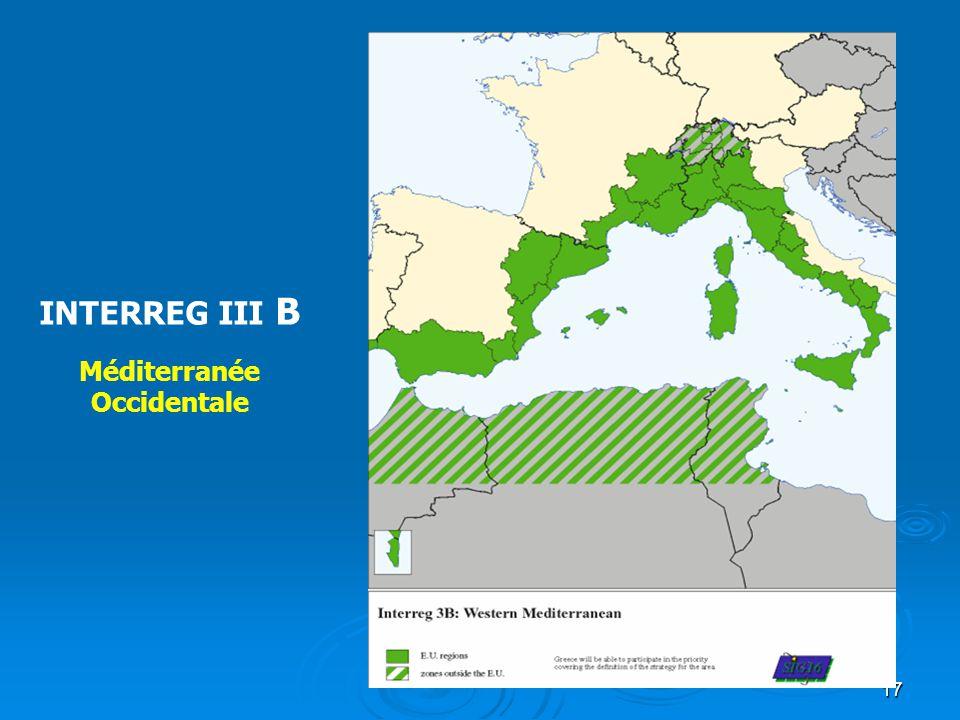 18 INTERREG III B Archimed