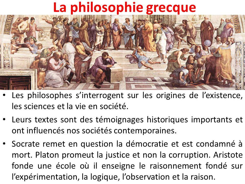 La religion grecque La religion grecque est polythéiste.