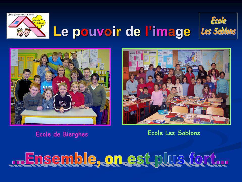 Le pouvoir de l'image Ecole de Bierghes Ecole Les Sablons