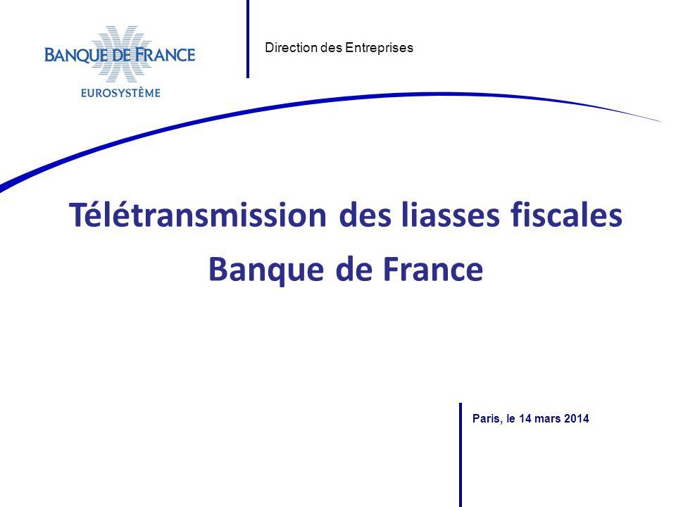 La cotation Banque de France – Direction des Entreprises SASIE L'activité cotation de la Banque de France repose sur des fondements juridiques nationaux et internationaux :  Code monétaire et financier – art.
