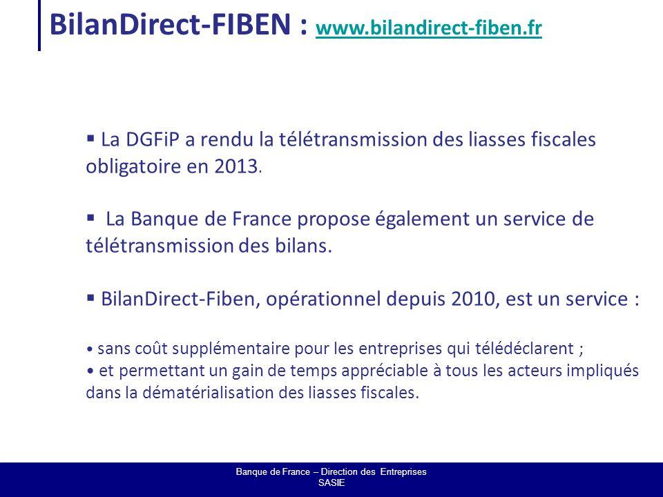 Le partenariat Ordre des Experts comptables – Banque de France Banque de France – Direction des Entreprises SASIE  Un partenariat signé le 17 décembre 2009 entre la Banque de France et le Conseil Supérieur de l'Ordre des Experts Comptables.