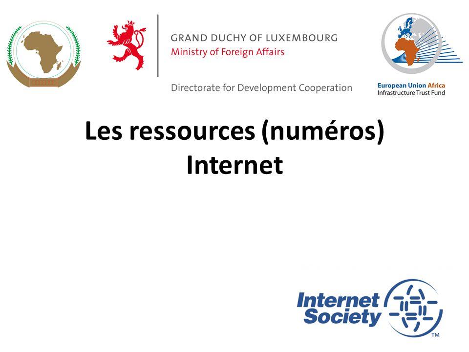 Les ressources (numéros) Internet 1
