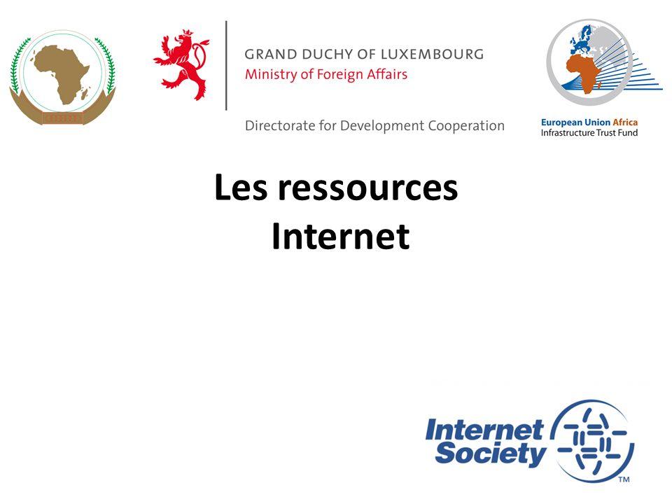Les ressources Internet 28