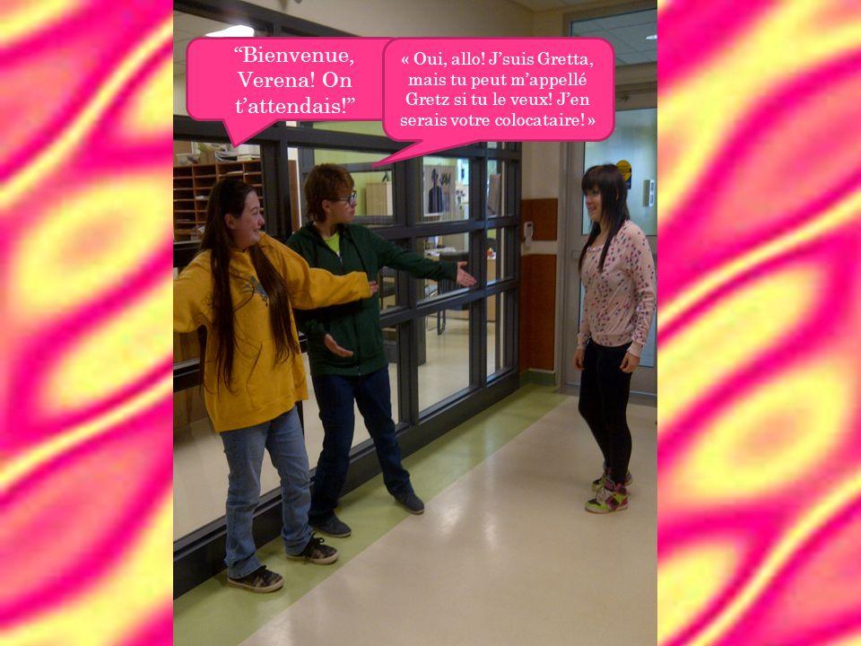 Dès que des jours se passent, Verena découvre quelque chose bizarre dans les corridors.