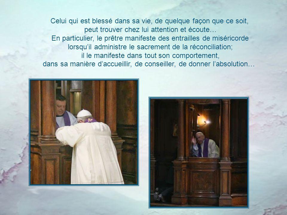 À l'image du Bon Berger, le prêtre est un homme de miséricorde et de compassion, proche de son peuple et serviteur de tous. C'est un critère pastoral