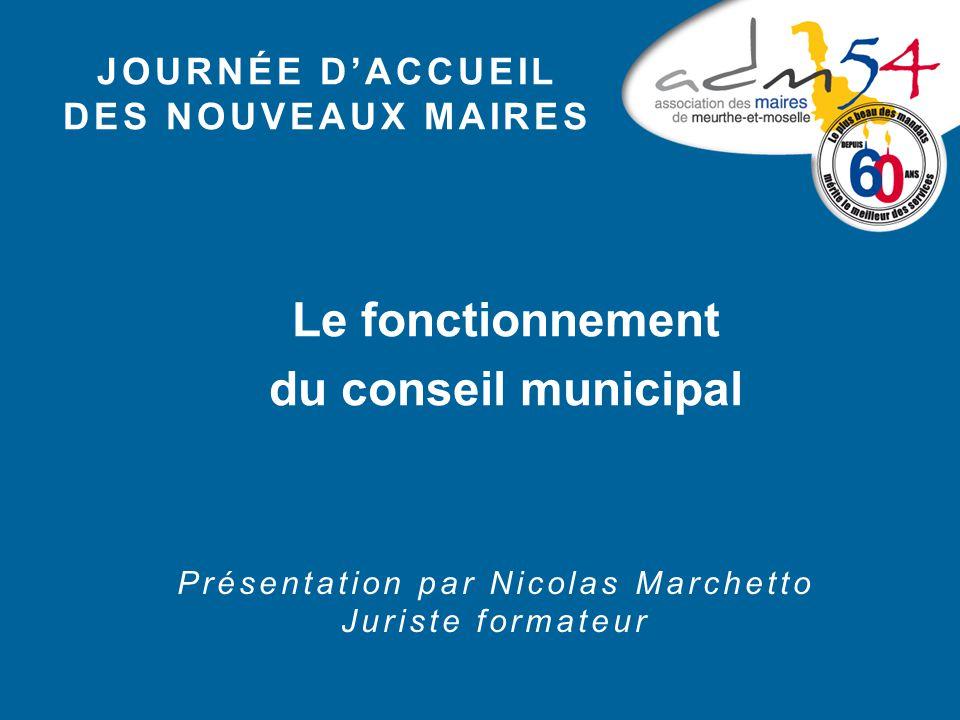P résentation de la session sous forme de questions réponses CGCT : Code Général des Collectivités Territoriales