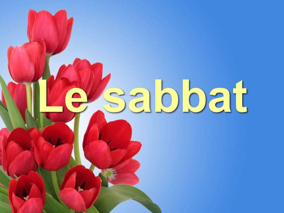 RESUME Au terme des six jours de la création, l ' Auteur de tout bien s ' est reposé le septième jour et a institué le sabbat comme mémorial de la création pour toute Au terme des six jours de la création, l ' Auteur de tout bien s ' est reposé le septième jour et a institué le sabbat comme mémorial de la création pour toute
