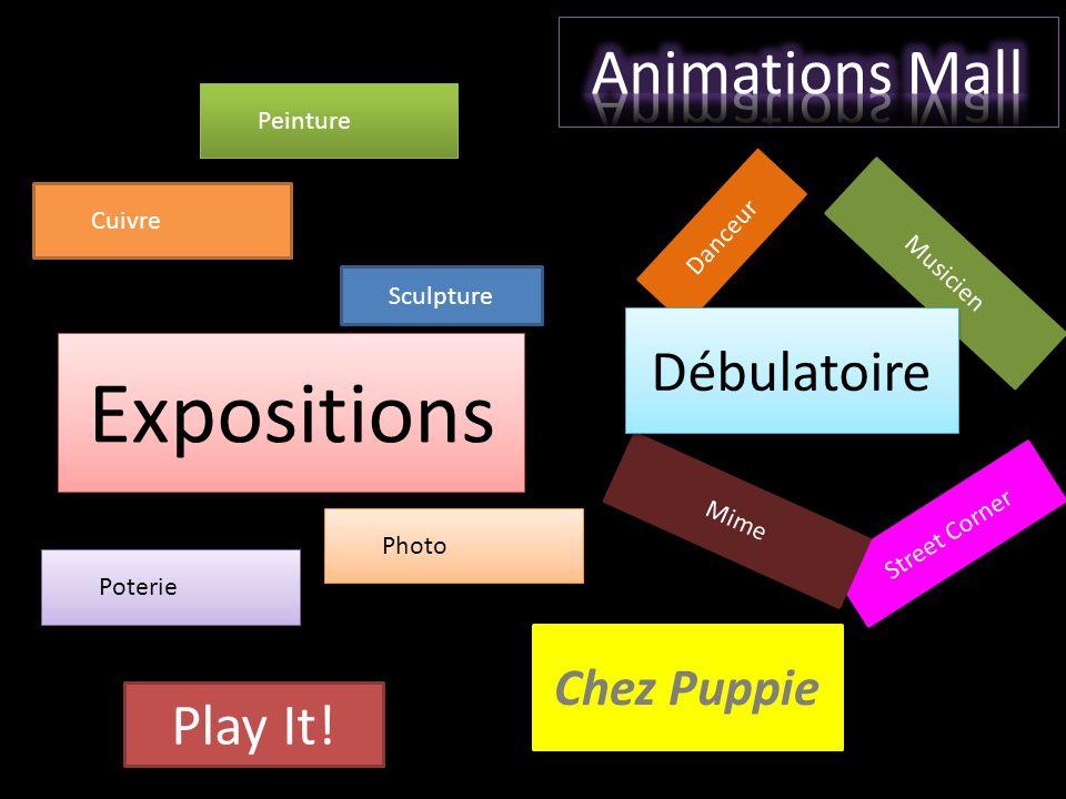 Play It! Expositions Sculpture Chez Puppie Danceur Musicien Street Corner Mime Peinture Cuivre Poterie Photo Débulatoire