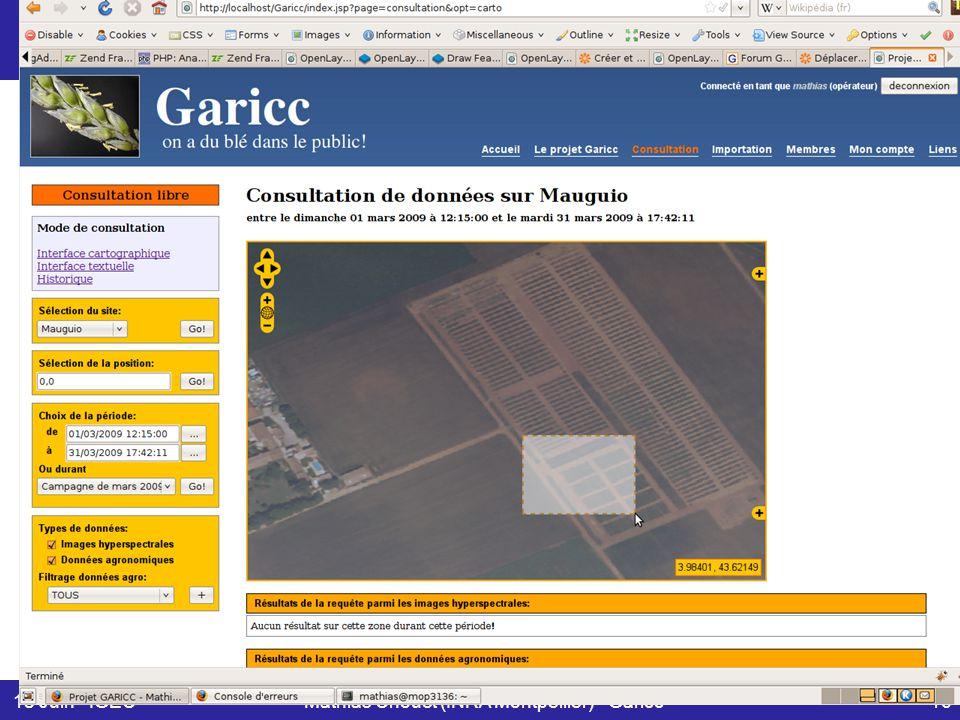 18 Juin - IGECMathias Chouet (INRA Montpellier) - Garicc16