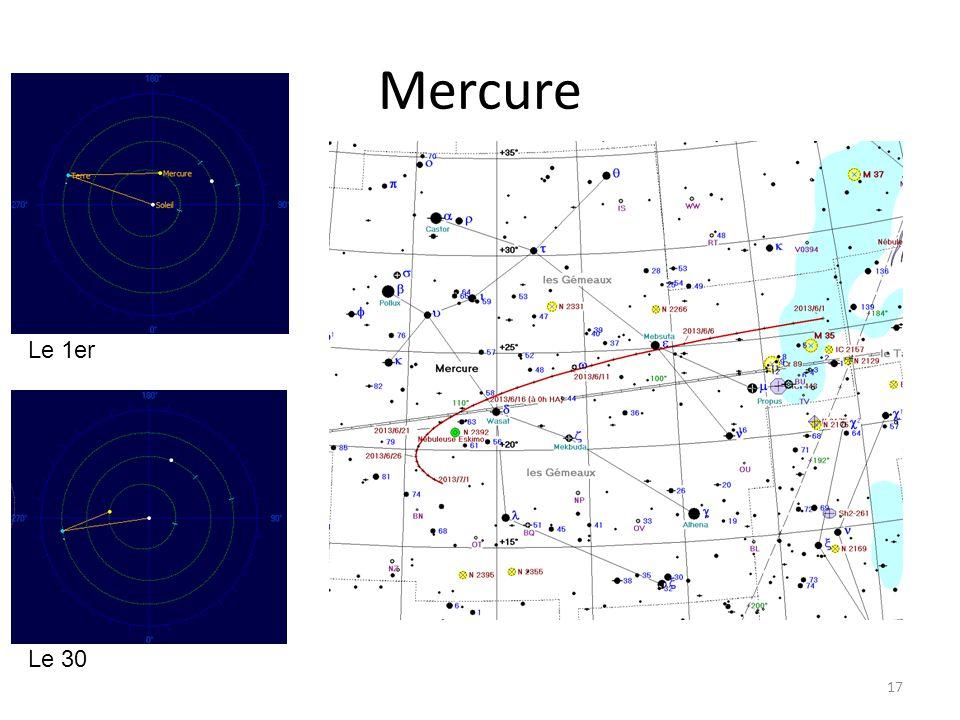 Mercure 17 Le 1er Le 30