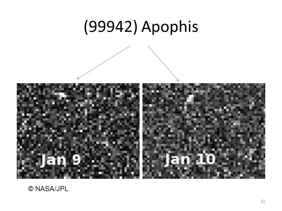 (99942) Apophis 32 © NASA/JPL