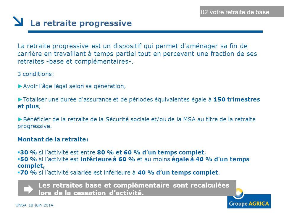 Durée d'assurance au régime général Durée d'assurance maximale 22 02 votre retraite de base La retraite progressive La retraite progressive est un dis