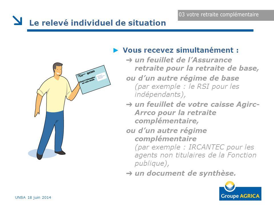 ► Vous recevez simultanément : ➔ un feuillet de l'Assurance retraite pour la retraite de base, ou d'un autre régime de base (par exemple : le RSI pour