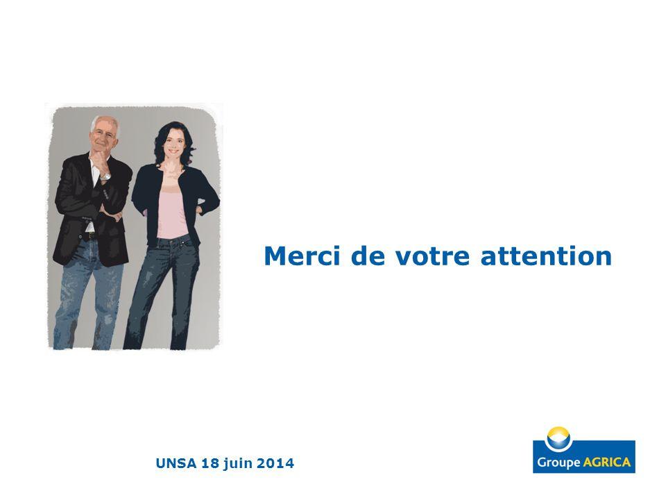 Merci de votre attention UNSA 18 juin 2014