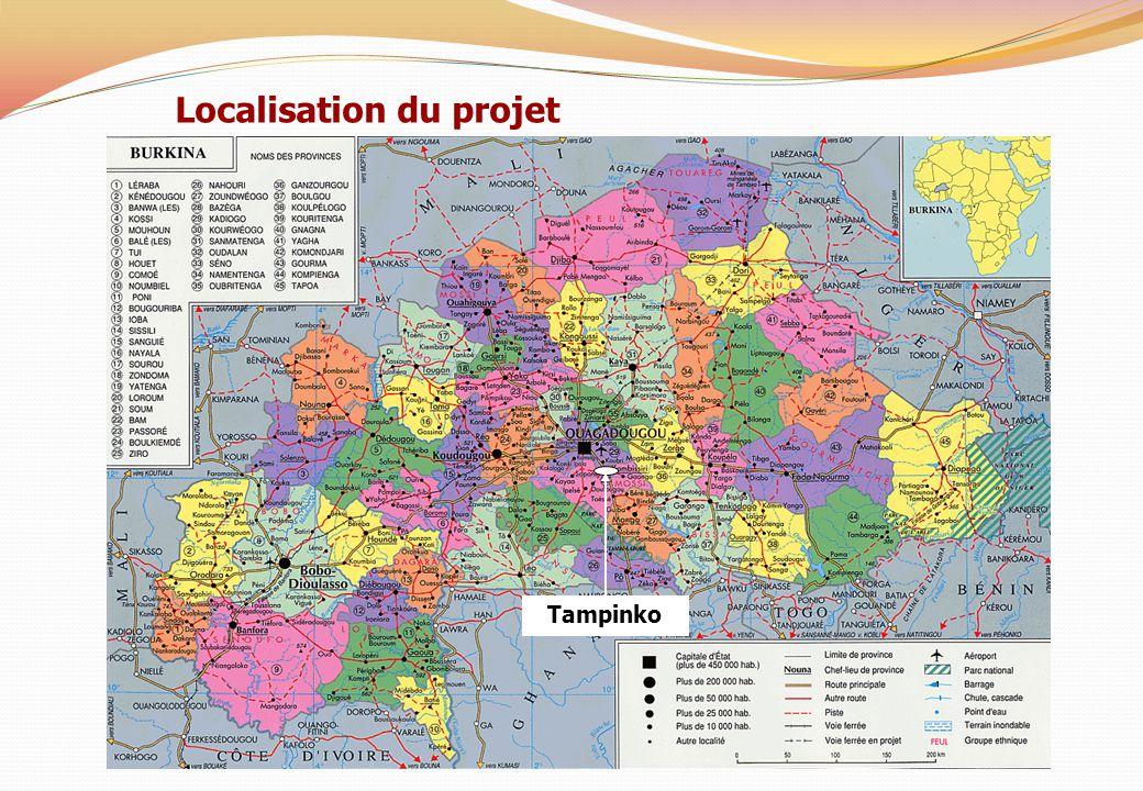 Localisation du projet Tampinko